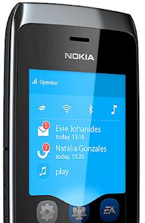 Nokia Asha 309 smart phone