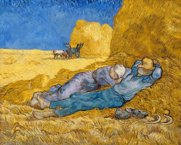 The afternoon siesta (Van Gogh)