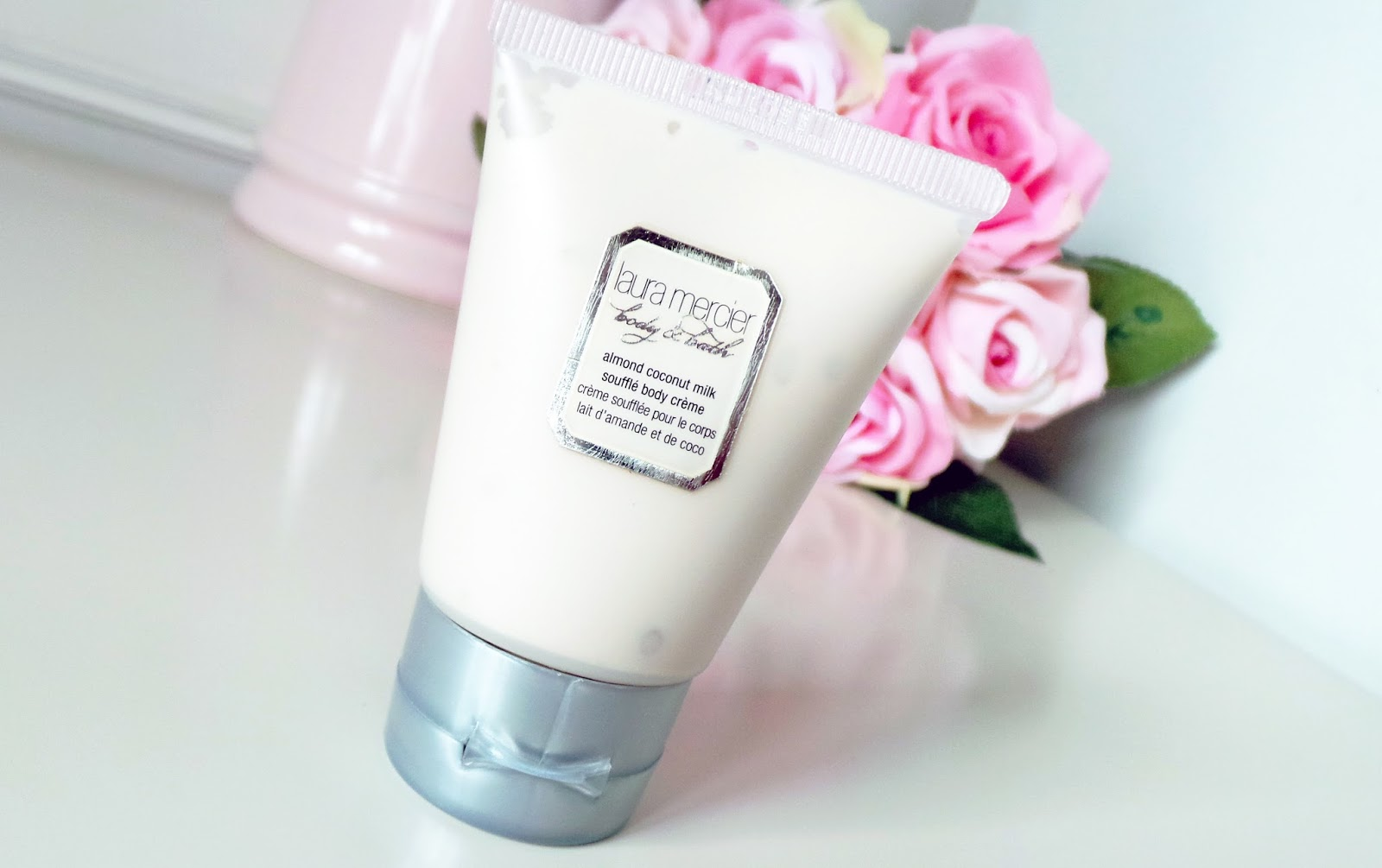 birchbox Laura Mercier Almond Coconut Milk Soufflé Body Cremé beauty blog review