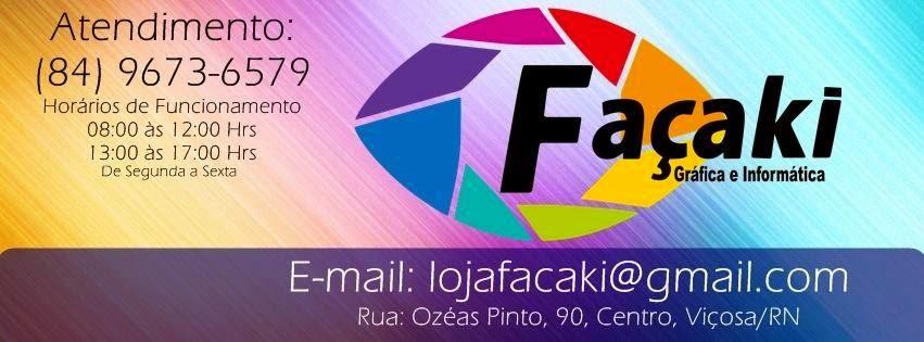 Loja Façaki Gráfica e Informática