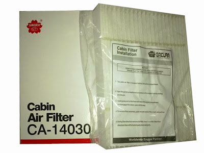 Cabin Air Filter - Filter AC Suzuki Splash