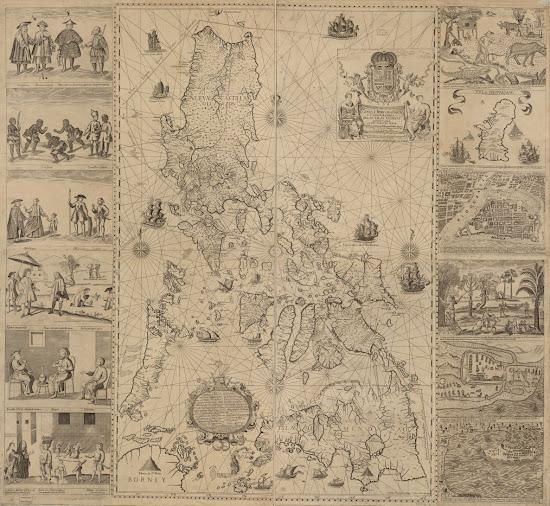 Carta hydrographica y chorographica de las Yslas Filipinas by Pedro Murillo
