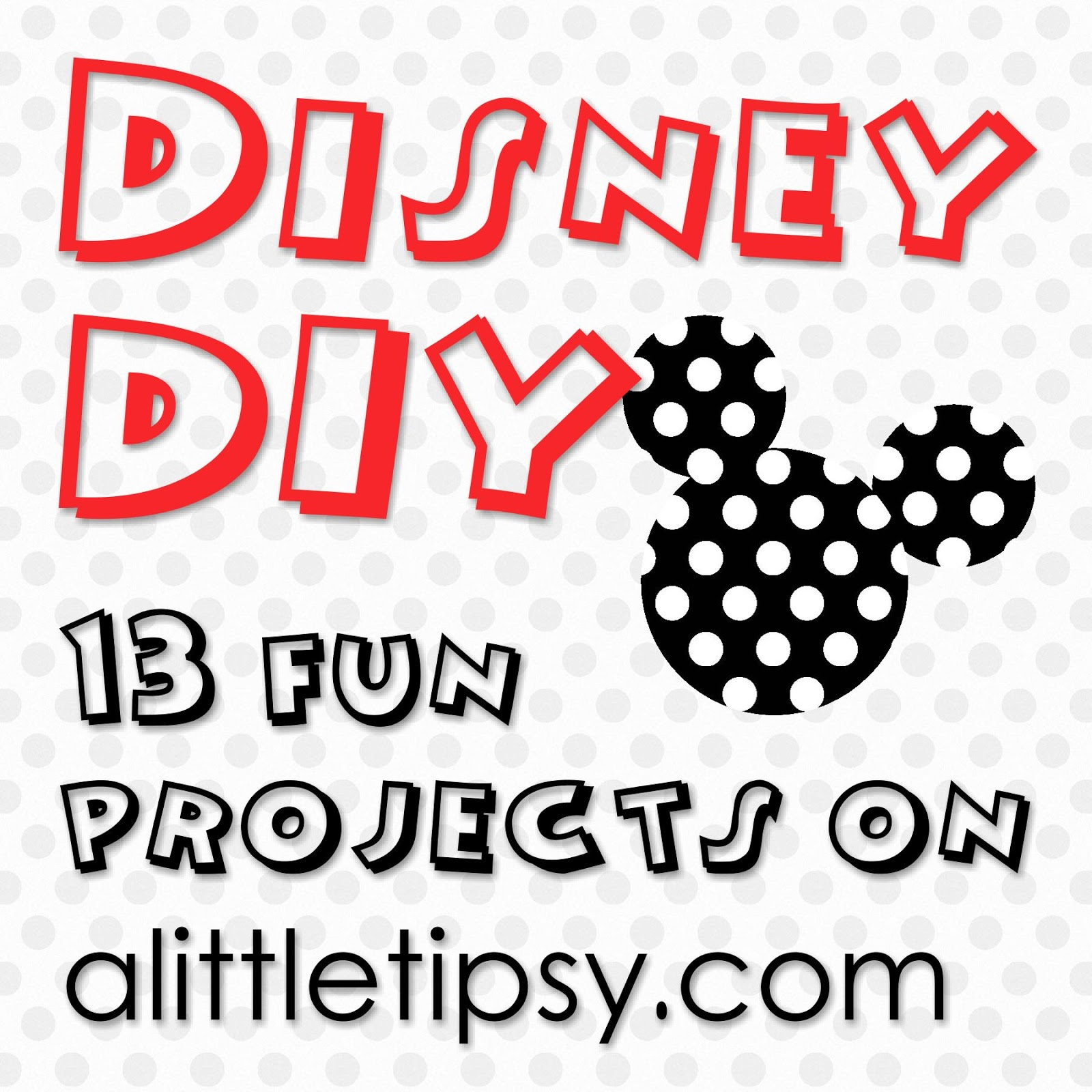 Disney diy archives a little tipsy without further adeiu we give you all the projects from our disney diy series solutioingenieria Choice Image