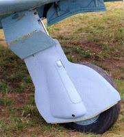 Основная стойка шасси миг-3