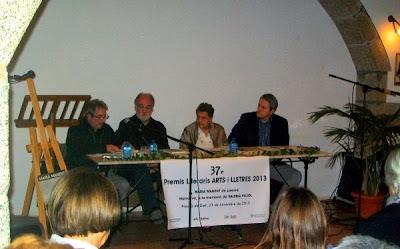 Presentació de La destral (Jacint Sala)
