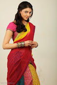 Kajal Agarwal Cute Half Saree Hot photo Shoot-thumbnail-10