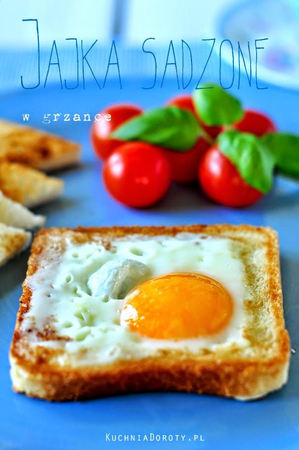jajka, jajka sadzone, jak zrobić jajko sadzone