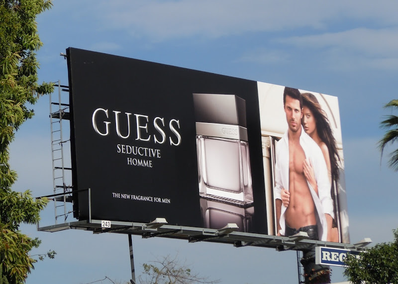 Guess Seductive Homme billboard
