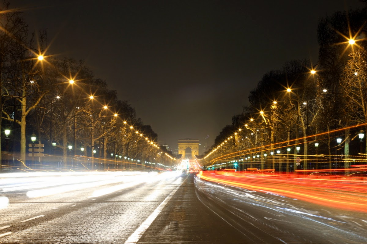 Paris nuit by night photographie