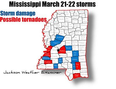 alerta tornados Mississippi 22 de marzo 2012
