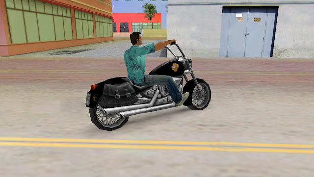 Harley Davidson Angel GTA Vice City