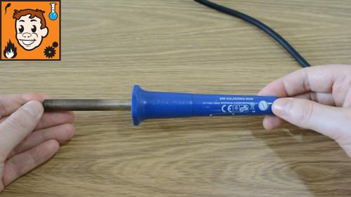 Undoing soldering iron handle