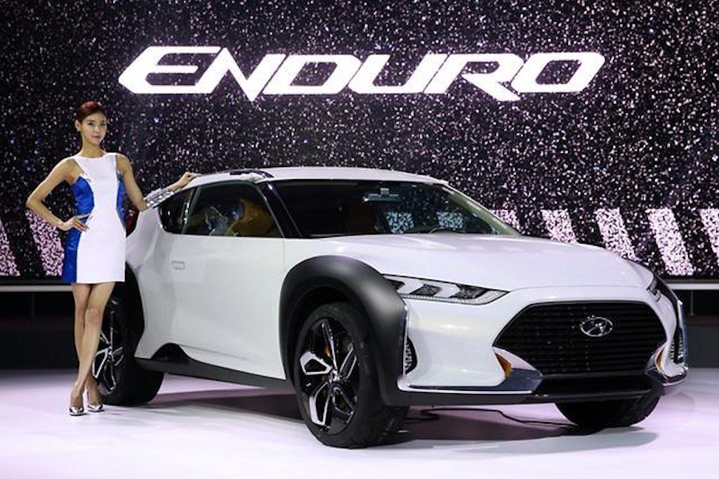 Hyundai HND Enduro Concept Is An Urban Sports Crossover - Small sports cars 2015