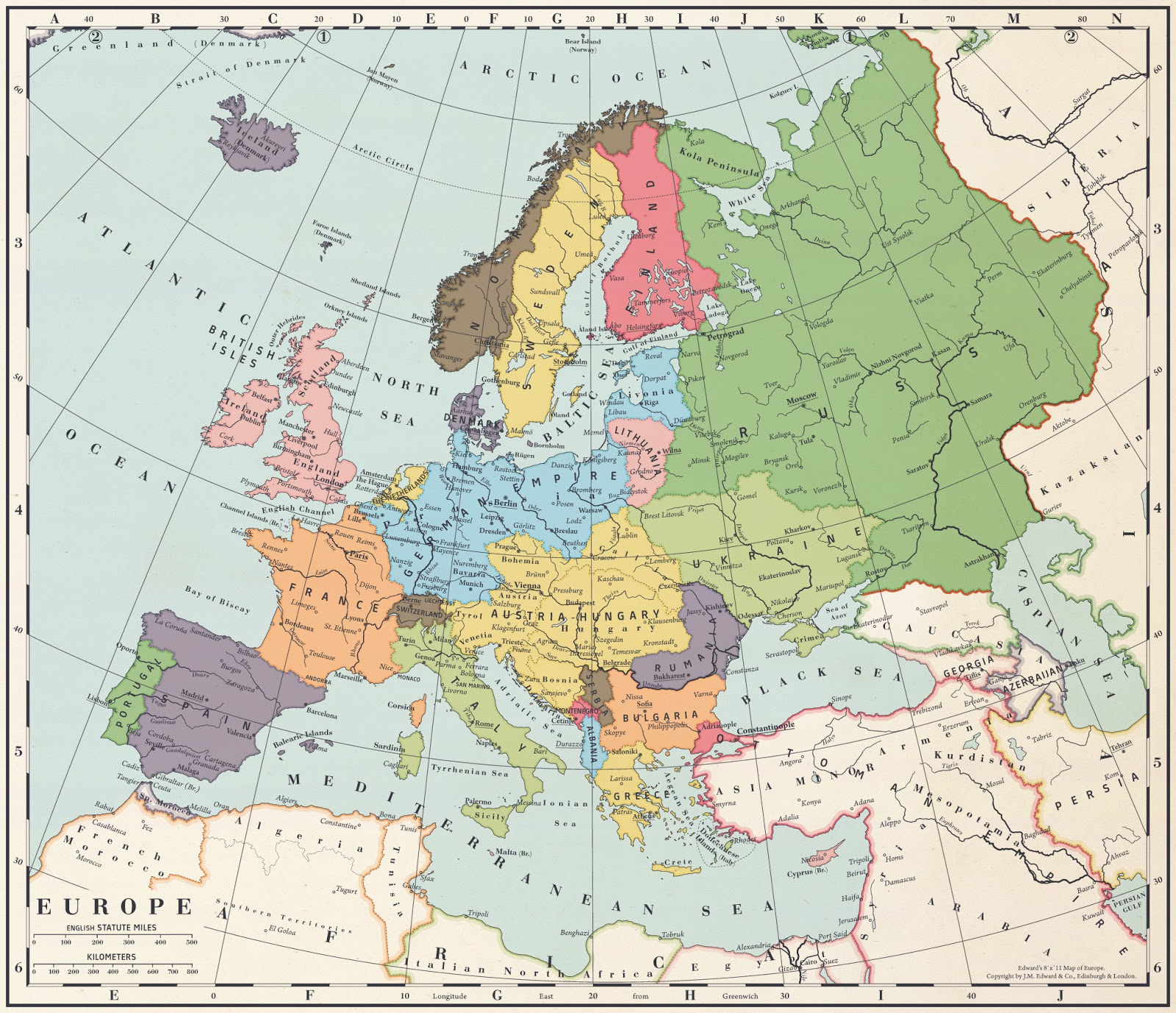 alternate history weekly update map monday europe after a central powers victory by blomma
