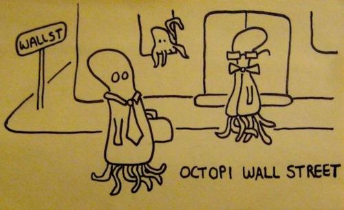 Octopi Wall Street