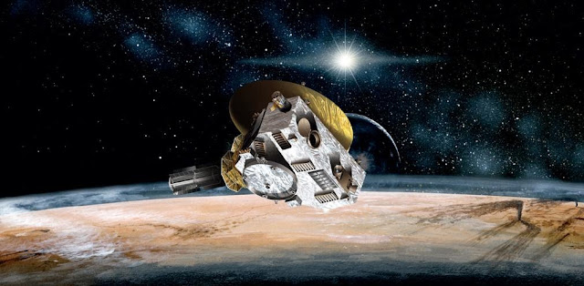 Artist's rendering of New Horizons spacecraft. Credit: NASA/Johns Hopkins University Applied Physics Laboratory/Southwest Research Institute
