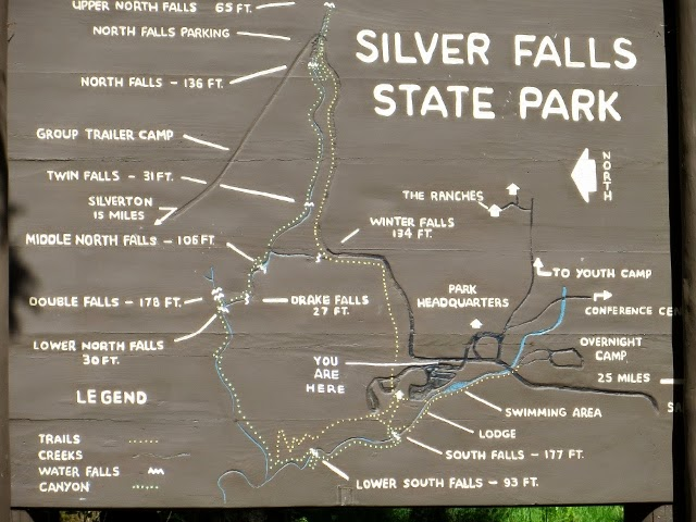 Travel Bug Silver Falls State Park Thurs May 29