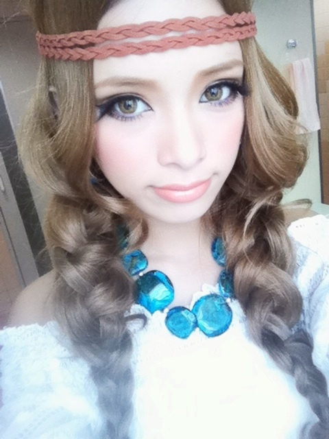 How To Do Cute Makeup. to do gyaru make-up I#39;ve