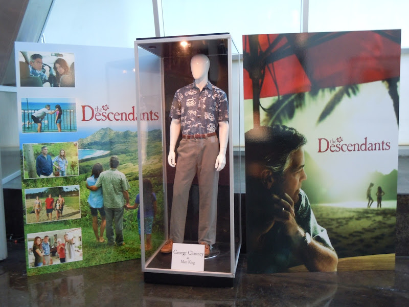 The Descendants film costume display