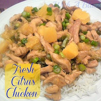 Fresh Citrus Chicken