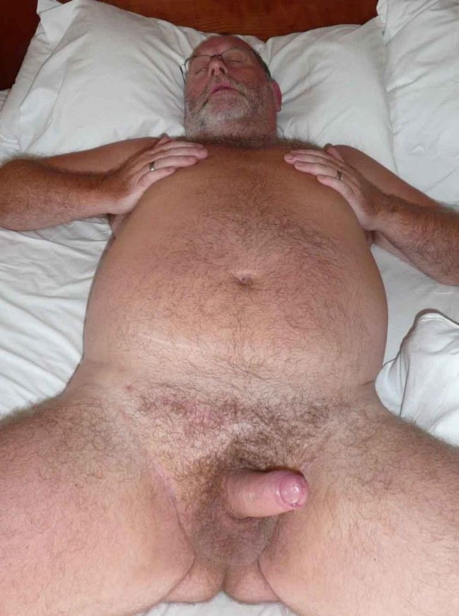 Handsome Naked Daddy