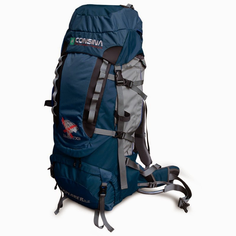 Carrier Consina Explorer 75+10 Liter Warna Biru