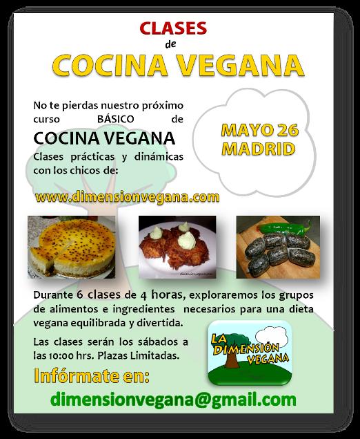 Pruebas varias empezamos un nuevo curso for Curso cocina vegana madrid