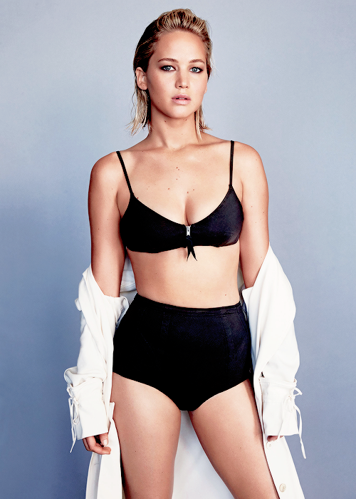 5cb69810b8033 Jennifer Lawrence for Glamour Magazine, February 2016 | BlueisKewl