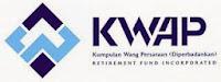 Logo Kumpulan Wang Persaraan (Diperbadankan) KWAP