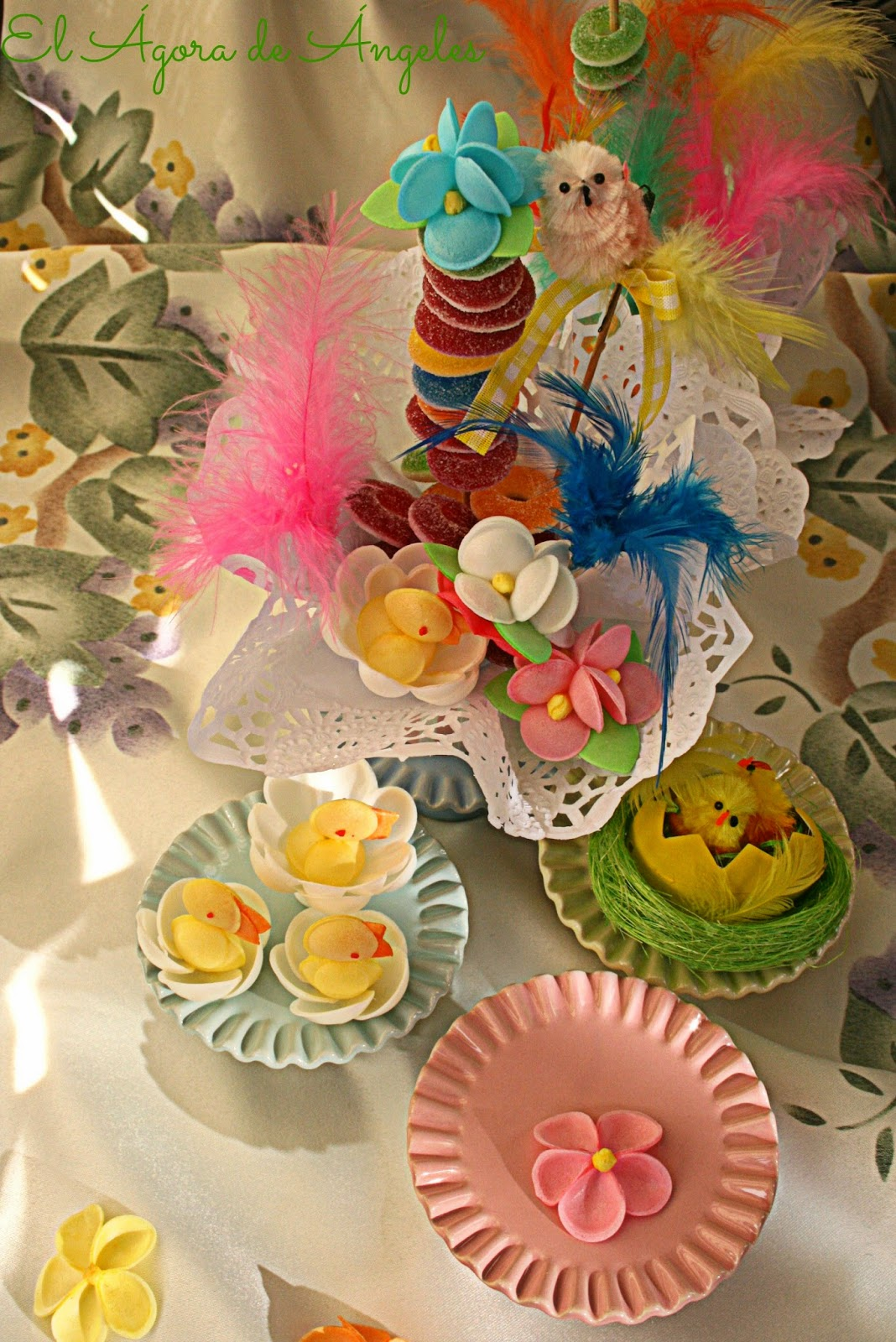 brochetas de chuches,cumpleaños, fiestas infantiles,mesas dulces