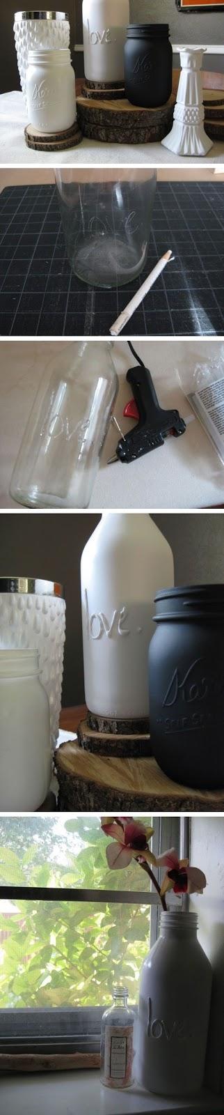 DIY botellas decorativas para tu hogar