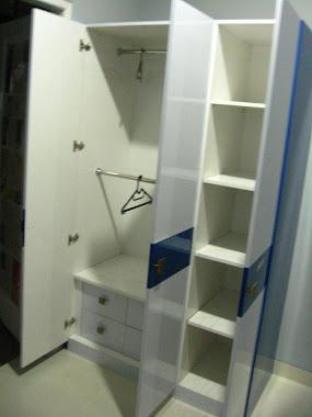 lemari pakaian kamar anak mas Imam Farid , D/a Kalimalang