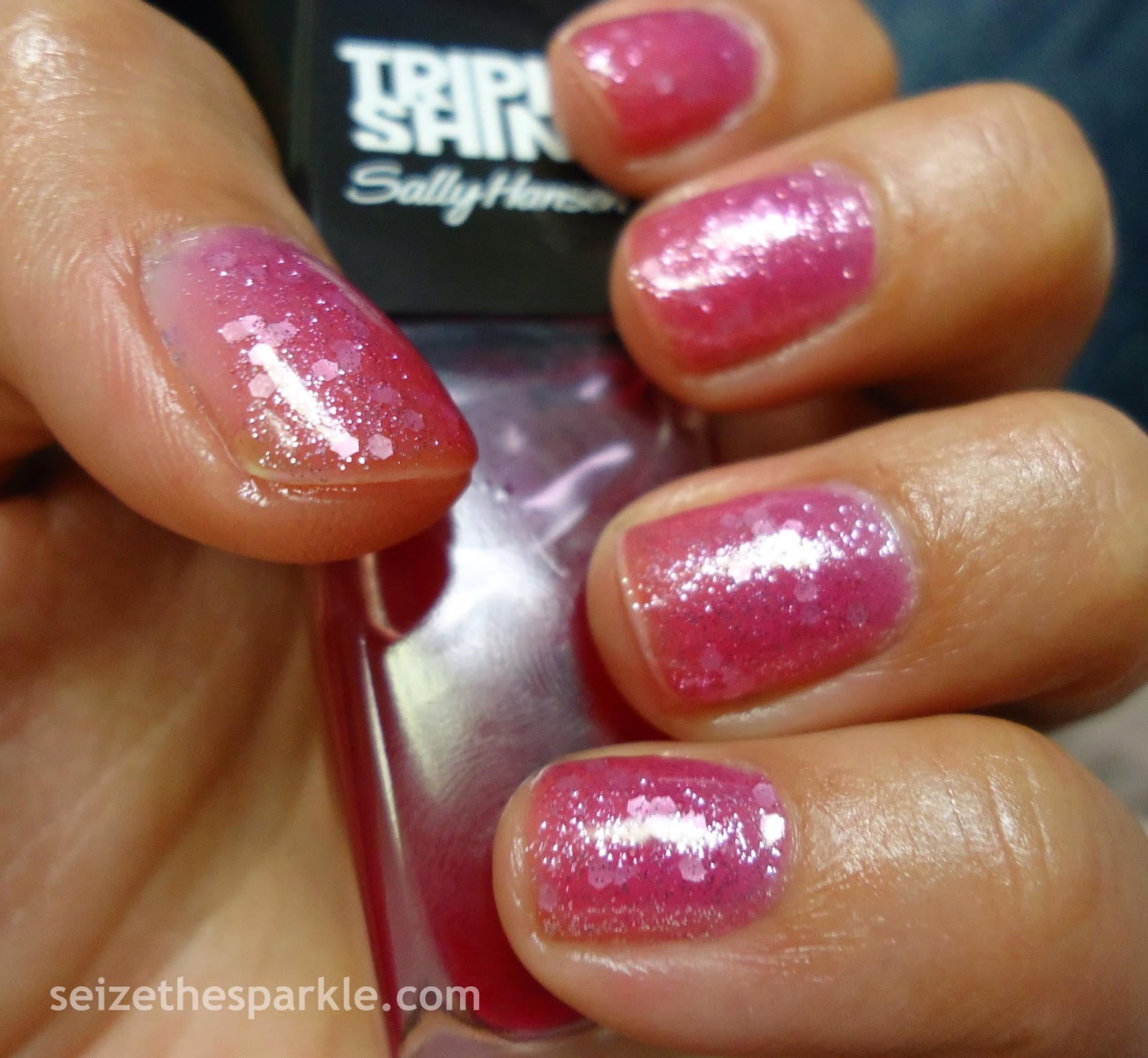 Sally Hansen Palm Beach Jelly Glitter Sandwich