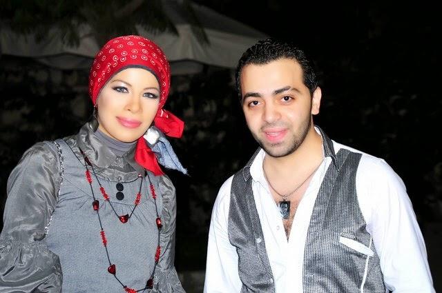 مع المطرب شيكو عام 2010
