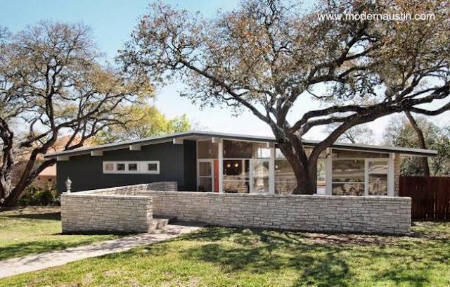 Residencia estilo Mid Century en Estados Unidos