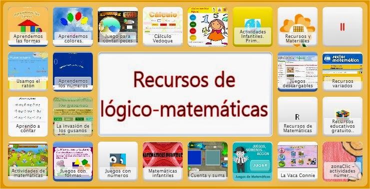 RECURSOS DE LÓGICO-MATEMÁTICAS
