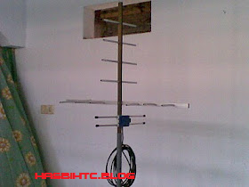 Membuat Antena TV UHF Sederhana