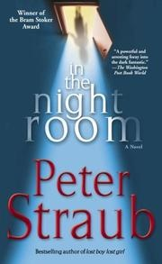 Peter Straub horror novel In the Night Room