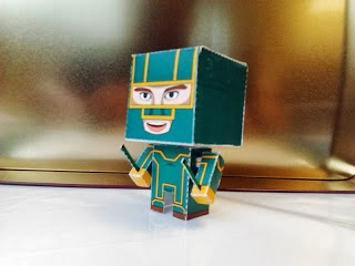Kick Ass Papercraft - Mini Paper Toy