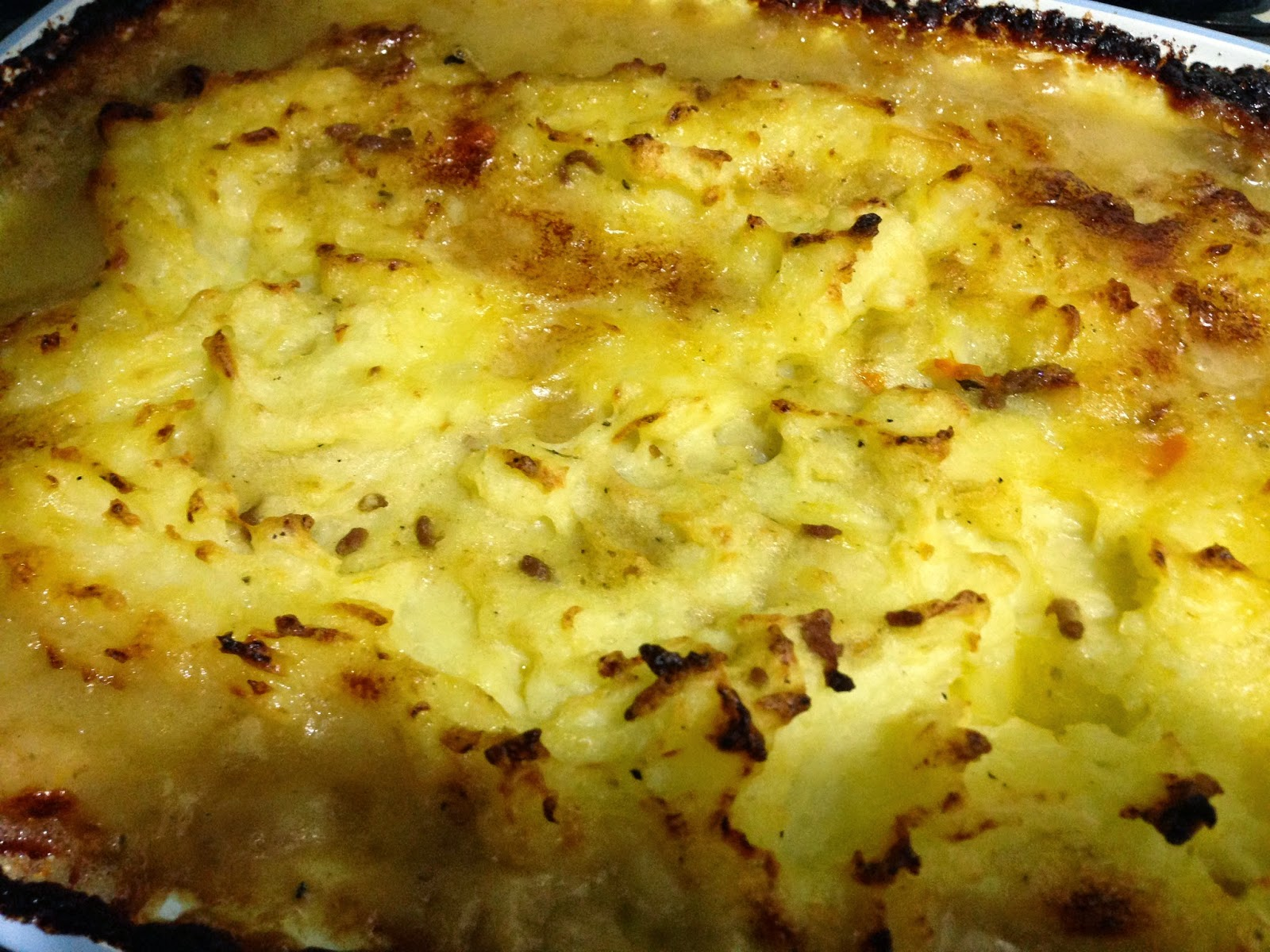 Jamie Oliver's Shepherd's Pie vs Milkman's Pie from Jamie's Great Britain.