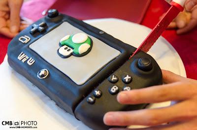 Tarta de WiiU Gamepad. WiiU Gamepad cake