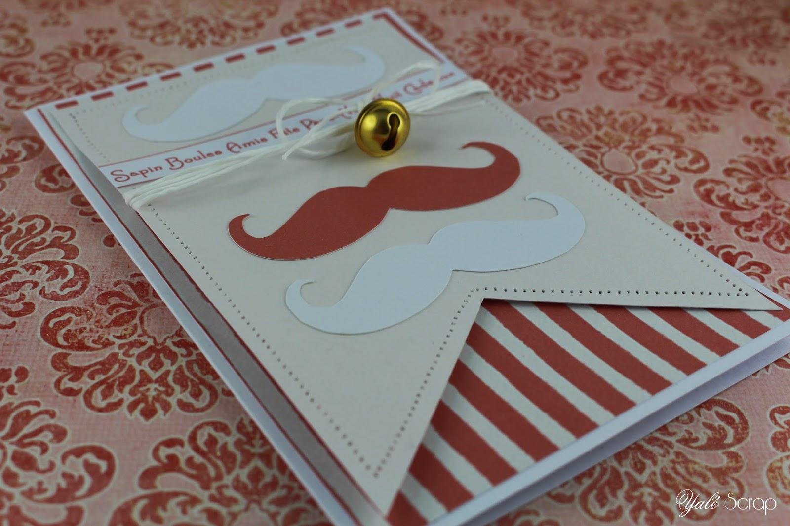 histoire de scrap 39 carte 39 39 moustaches de no l 39 39. Black Bedroom Furniture Sets. Home Design Ideas