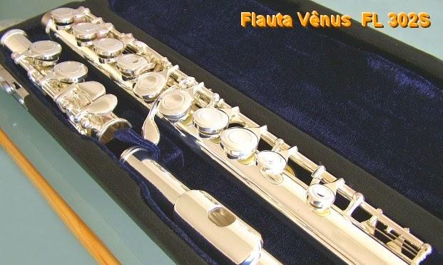 Flauta Vênus FL302S - A melhor flauta de preço acessível