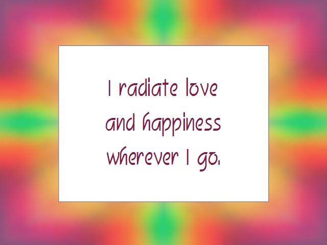 LOVE affirmation