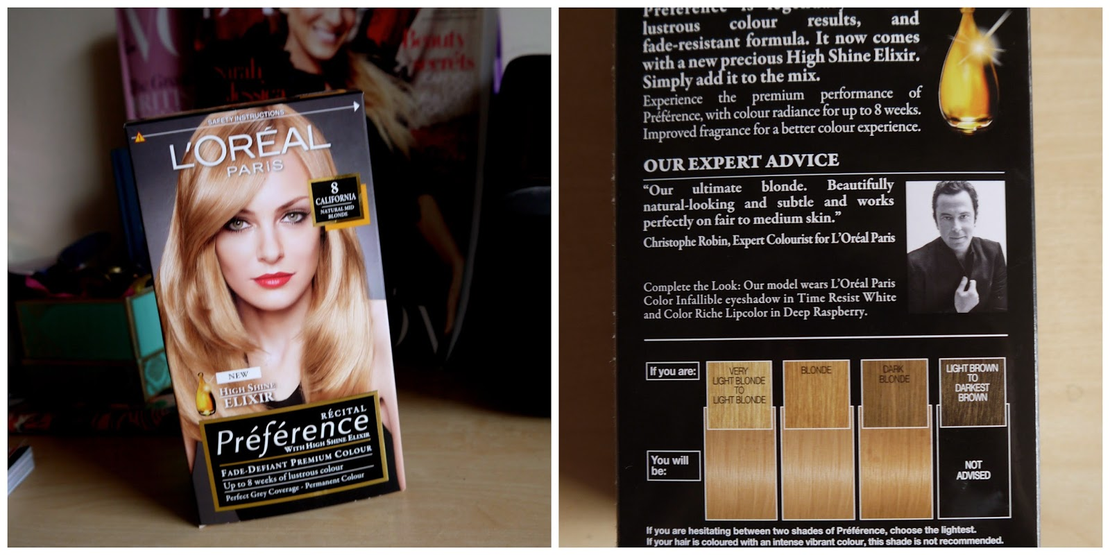 L Oreal Recital Preference In California Blonde The