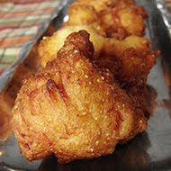 Cajun Chicken Fritters