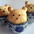 Petit ours dans un cup de thé