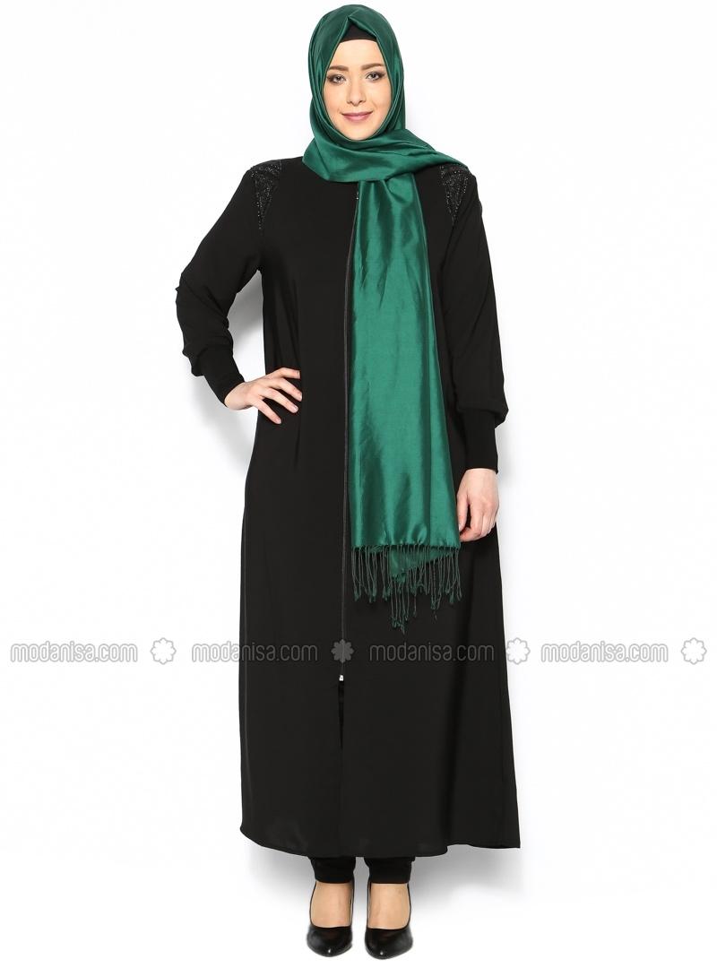 10 contoh model baju muslim untuk orang gemuk Fashion style untuk orang kurus