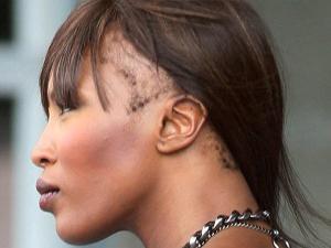 Enam Selebritis Botak Lantaran Ingin Cantik: Naomi Campbell
