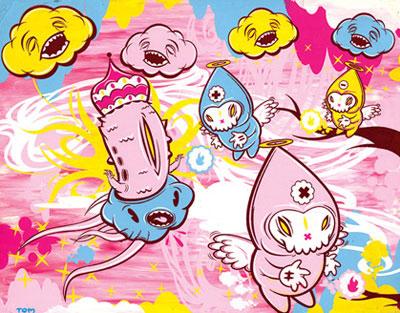 Thomas Han - Cute and Dark Illustration - Kawaii monsters